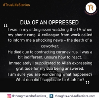 DUA OF AN OPPRESSED